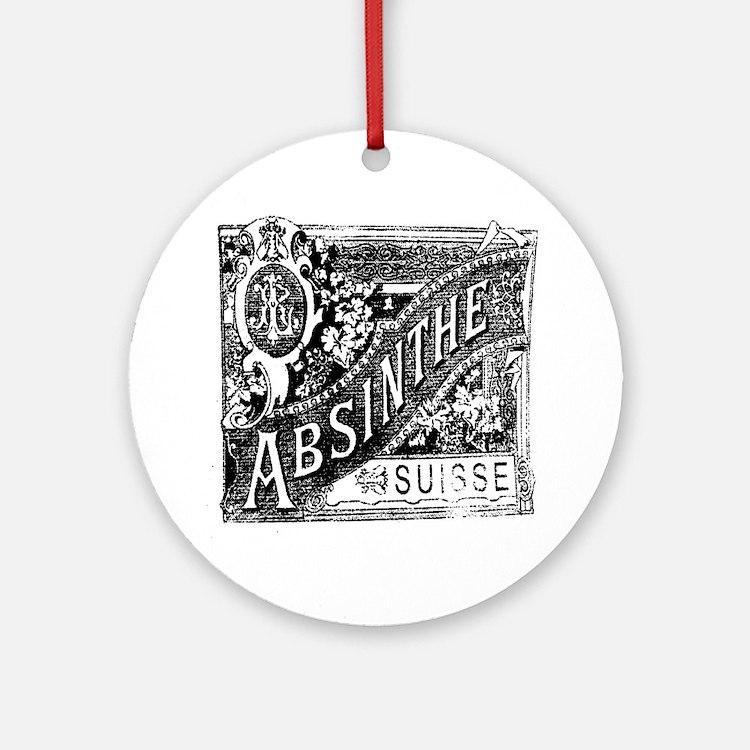 Absinthe Round Ornament