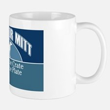 Mutts for Mitt Blue Small Small Mug