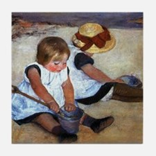 Mary Cassatt Tile Coaster