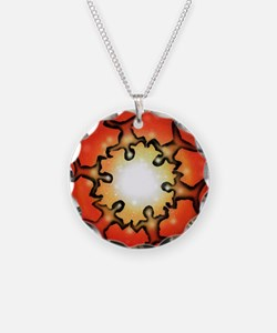 six nations Necklace Circle Charm