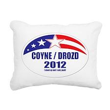 Coyne Drozd 2012 Rectangular Canvas Pillow