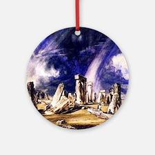 John Constable Stonehenge Round Ornament