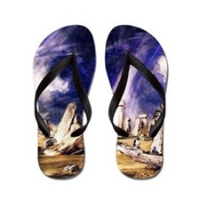 John Constable Stonehenge Flip Flops