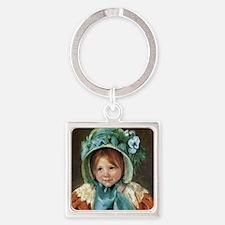 Mary Cassatt Sara Square Keychain