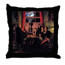 Johann Erdmann Hummel Throw Pillow