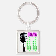 Barack Obama 44 shirt Square Keychain