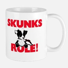 Skunks Rule! Mugs