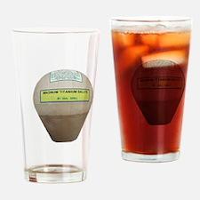 Titanium Shell Drinking Glass