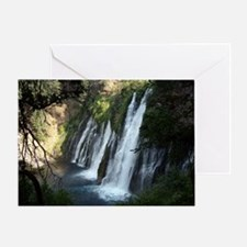 Burney Falls - McArthur-Burney Falls Greeting Card