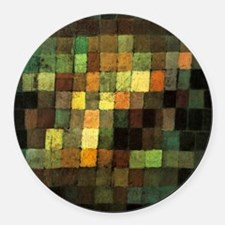 Paul Klee Ancient Sounds Round Car Magnet