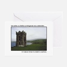Takes Time to Build a Castle. Greeting Cards (Pack