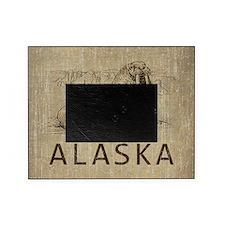 Vintage Alaska Picture Frame