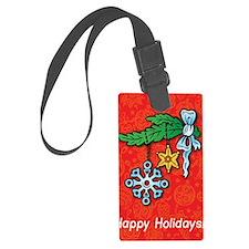 Snowflake Ornament Luggage Tag