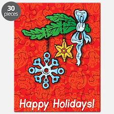 Snowflake Ornament Puzzle