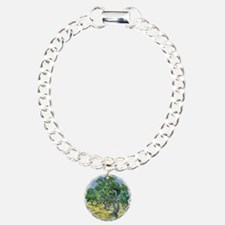 Van Gogh Olive Grove Charm Bracelet, One Charm