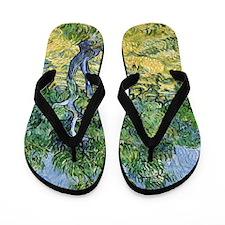 Van Gogh Olive Grove Flip Flops