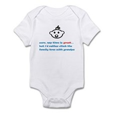 Nap Time Is Great (Grandpa) Infant Bodysuit