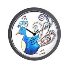 A truly exotic bird Wall Clock