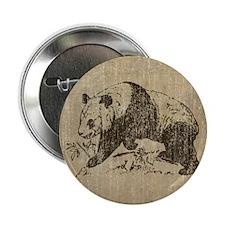 """Vintage Panda 2.25"""" Button"""