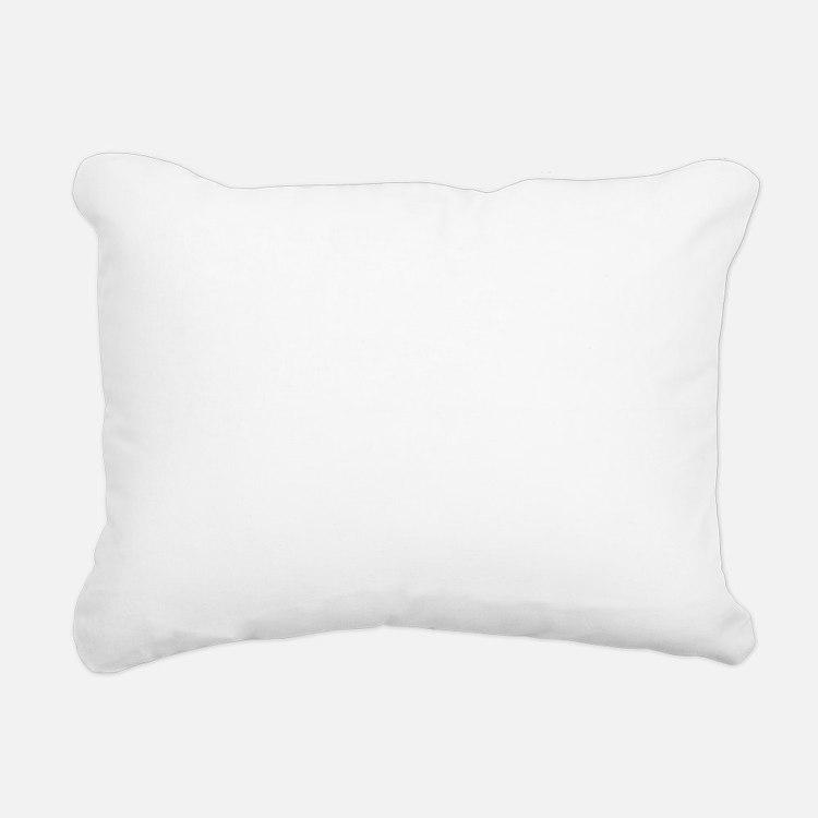runDaddyRun1B Rectangular Canvas Pillow