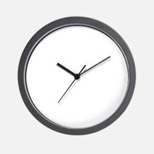 TriathleteBeerDrink1B Wall Clock