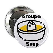"GrouperSoupCartoonBowl 2.25"" Button"