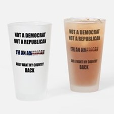 Im an American Drinking Glass