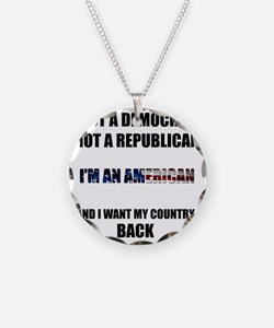 Im an American Necklace