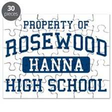 Rosewood High Hanna Pretty Little Liars Puzzle