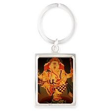 Ganesh Portrait Keychain