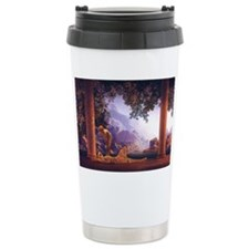 Maxfield Parrish Daybreak Travel Mug