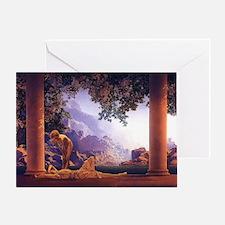 Maxfield Parrish Daybreak Greeting Card
