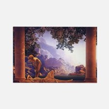Maxfield Parrish Daybreak Rectangle Magnet