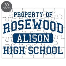 Rosewood High School Alison Pretty Little L Puzzle