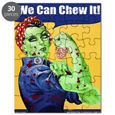 Zombie Rosie the Riveter - You Can Chew It! Puzzle