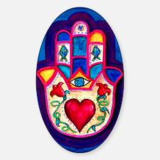 Heart Hamsa by Rossanna Nagli Decal