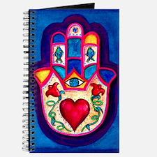 Heart Hamsa by Rossanna Nagli Journal