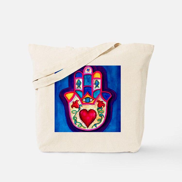 Heart Hamsa by Rossanna Nagli Tote Bag