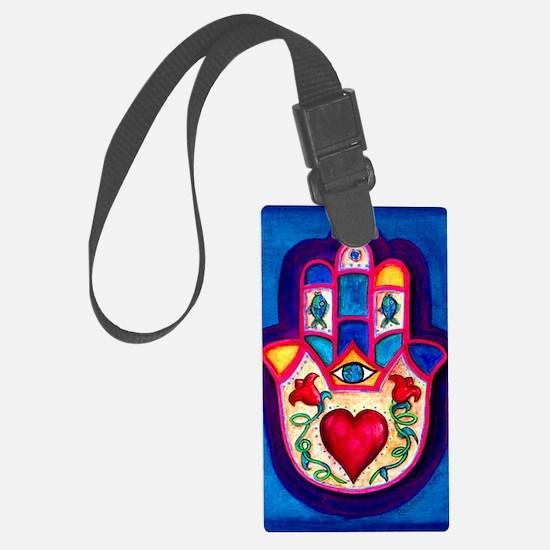 Heart Hamsa by Rossanna Nagli Luggage Tag