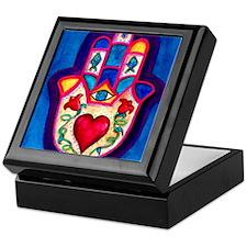 Heart Hamsa by Rossanna Nagli Keepsake Box