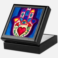 Heart Hamsa by Rossanna Nagli Keepsake Box