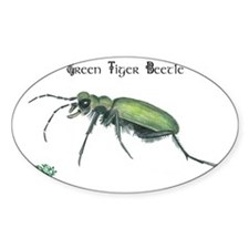 Green Tiger Beetle Stickers