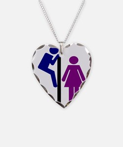 Toilet Sign Necklace