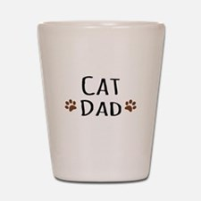 Cat Dad Shot Glass