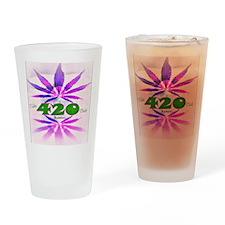 Lady Bud Drinking Glass