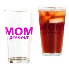 Mompreneur Drinking Glass