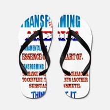 Fundamentally Transforming America Flip Flops