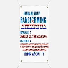 Fundamentally Transforming America Banner