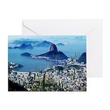 Corcovado - Rio De Janeiro Brazil Greeting Card