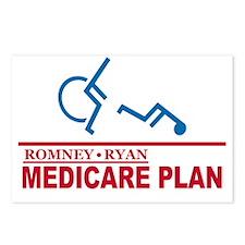 Romney Medicare Plan Postcards (Package of 8)
